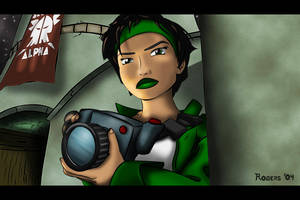 Beyond Good and Evil: Jade by custom3dgraphics