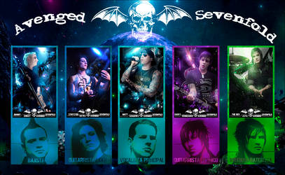 Avenged sevenfold by met99