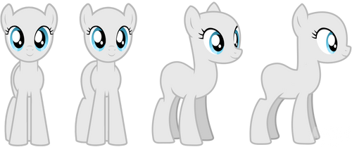 Pony mare base pack by viexy