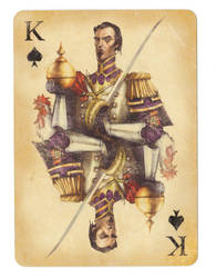 Fable Cards: King of Spades by Frostbite-Melody