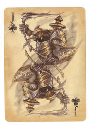 Fable Cards: Jack of Clubs by Frostbite-Melody