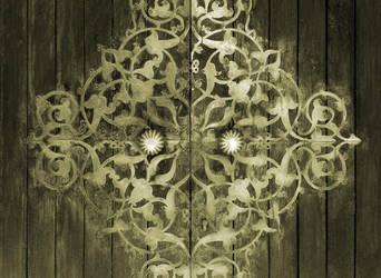 Old Islamic Art door by memo00o