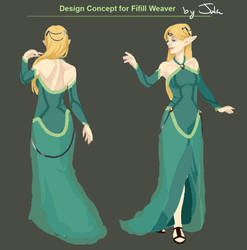 Character Design for Queen Fifill Weaver by MusicalNumber