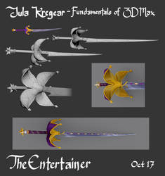 The Entertainer - Sword Design (update) by MusicalNumber