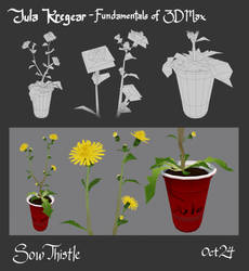 Sow Thistle (Updated) by MusicalNumber