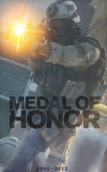 In memorry of MEDAL of HONOR by 32Rabbit