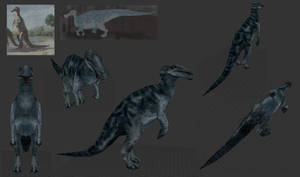 Trachodon - for Saurian Target by Poharex