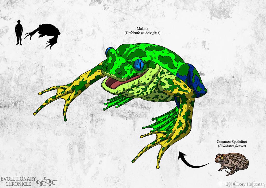 EC - Makika (Green Morph) by Poharex