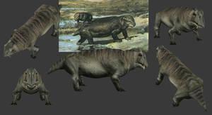 Carnivores Triassic - Lystrosaurus (2018) by Poharex