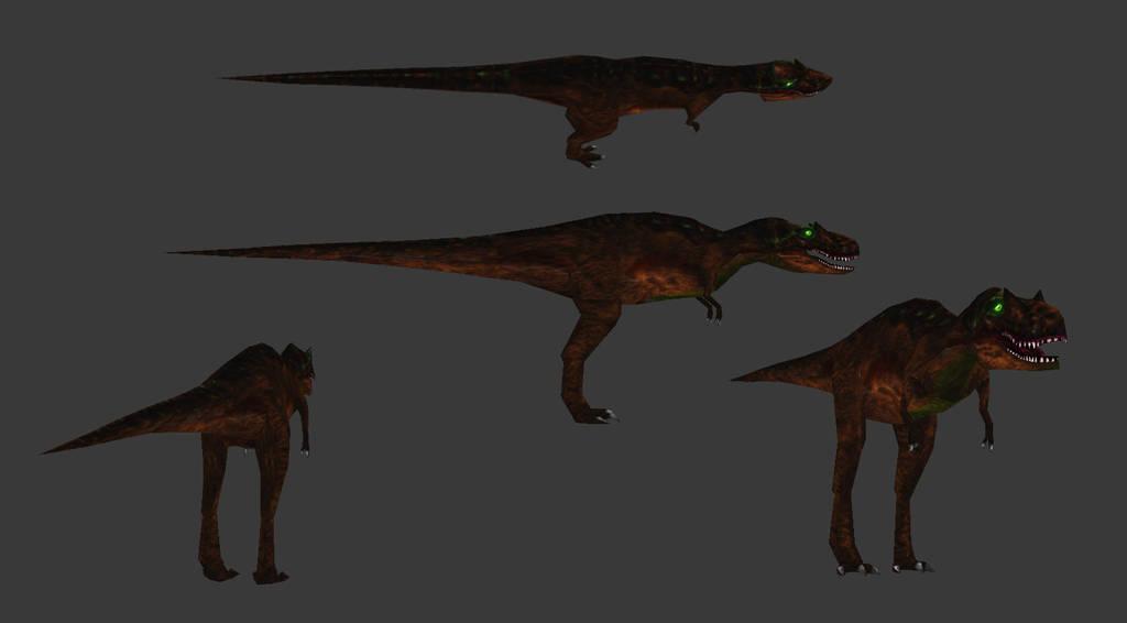 Carnivores: New World - Zhuchengtyrannus by Poharex