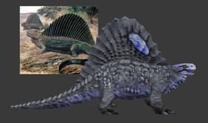 Carnivores Triassic - Edaphosaurus (2018) by Poharex