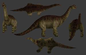 Carnivores+ Mansourasaurus by Poharex