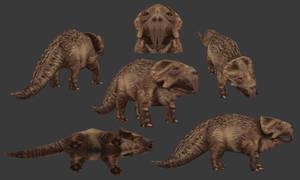 Carnivores 2- Mediceratops by Poharex