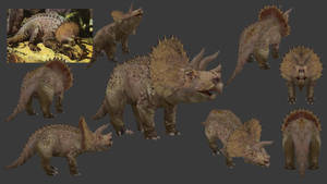 Carnivores+ Ceratops by Poharex