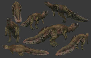 Carnivores+ Dysalotosaurus by Poharex