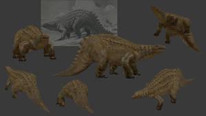 Carnivores+ Scelidosaurus by Poharex