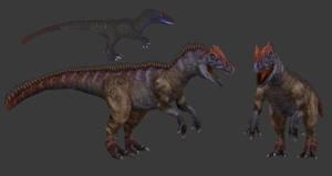 Carnivores+ Saurophaganax by Poharex