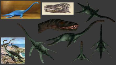 Carnivores+ Plesiosaurus by Poharex