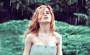 why does it always rain on me by auguria