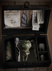 Alchemy ingredients ooak box by dodoalbino