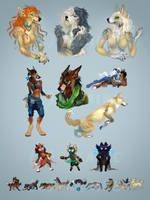 Bits and Pieces March 2015 by elphora
