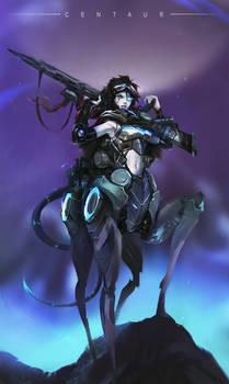 Centaur by Anocha