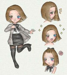 OC: Rin by Minjuu