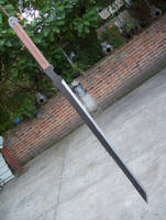 MGS4: Raiden's Sword by RazielGardel