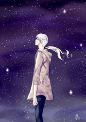 Alone with the stars by sanmei1992