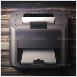 Printer icon by mysweetmaya