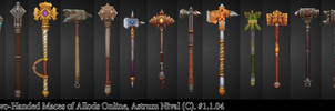Two-Handed Maces - Allods by janesthlm