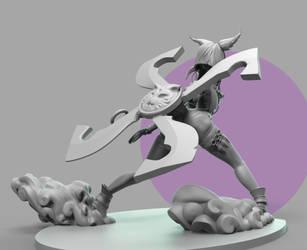 Elin Ninja Clay Final (2) by andra-arts