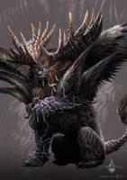 divine beast - gyromancer by kunkka