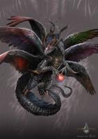 divine dragon - gyromancer by kunkka