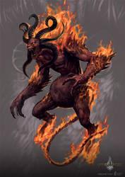 ifrit - gyromancer by kunkka