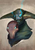 The Rogue Knight unmasked by kunkka