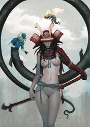 Samurai Sugar x Misfits II by kunkka