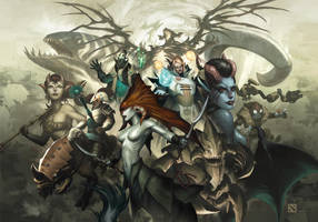 Compendium of Heroes 1 by kunkka
