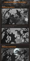 Clash of Heroes II step-by-step by kunkka