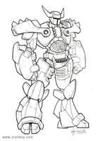 robot-mech guy by trollboy