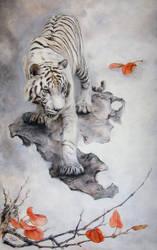 White tiger by IrenaDem