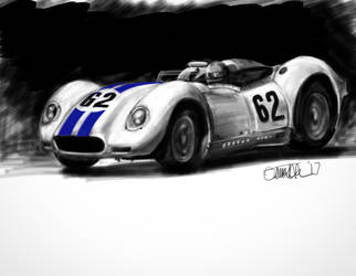 Number 62 Car by galiotti