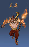 Fire Tiger Snake of JUSTICE by Kobb