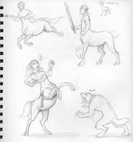 Centaurs by Kobb