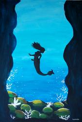 The mermaid by Laurindie