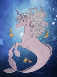 Under water by Laurindie