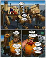 My Life at War-Page 232 Lettered by Mad-Ram