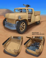 DitD Sand Cat 5C technical by Mad-Ram