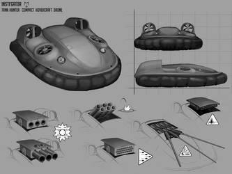 Instigator Tank-Hunter Drone by Mad-Ram