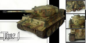 1/16 Tiger 1 Heavy Tank by Reaver-8-0-8-0-8